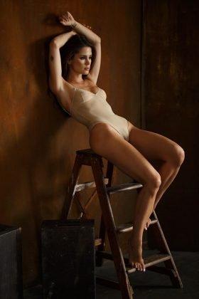 Kleine Caprice im sexy Ballettanzug