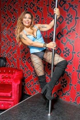 Patricia Blanco Pole Dancing